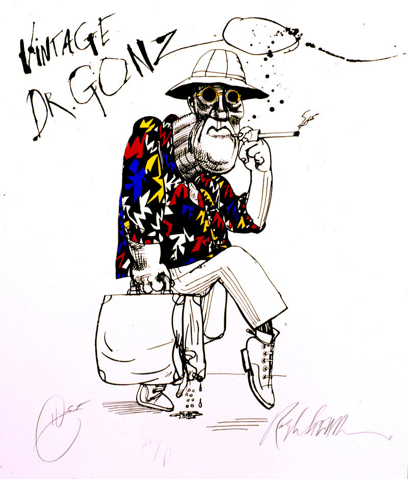 Vintage Dr. GONZO